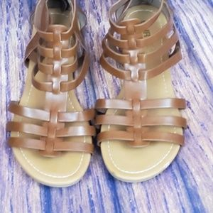 2 for $20 Brown Unr8ed Gladiator Sandals size 8.5